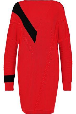 RAG & BONE Cricket oversized ribbed cotton mini dress