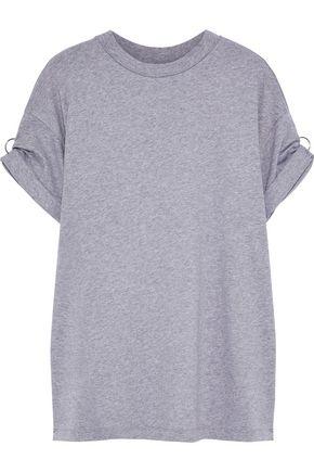 3.1 PHILLIP LIM Ring-detailed mélange cotton-jersey T-shirt