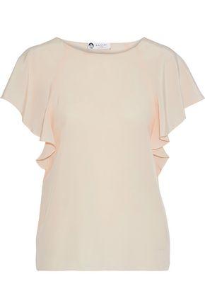 LANVIN Silk crepe de chine blouse