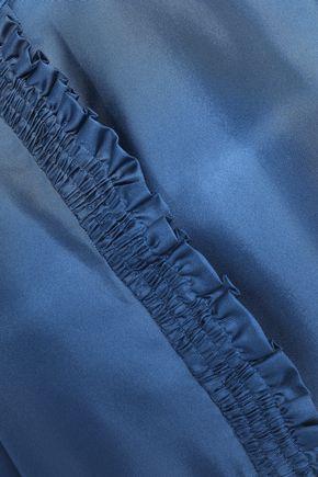 ROKSANDA Ruffled silk-twill tunic