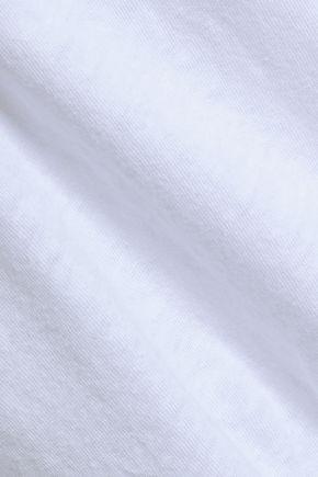 RE/DONE Slub cotton-jersey tank