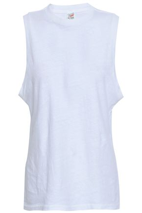RE/DONE Slub cotton-jersey tank