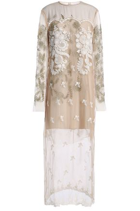 STELLA McCARTNEY Embellished tulle gown