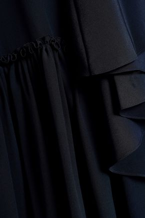 STELLA McCARTNEY Draped silk crepe de chine dress