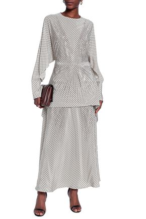 be867b6563 STELLA McCARTNEY Printed silk maxi dress