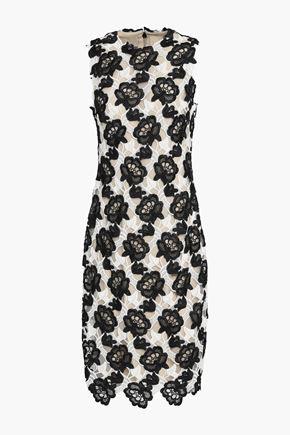 MONIQUE LHUILLIER Guipure lace dress
