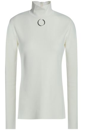 STELLA McCARTNEY Stretch-knit turtleneck sweater