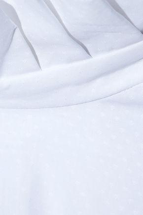 ELLERY Runaways oversized cotton-jacquard turtleneck tunic