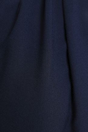 EMILIO PUCCI Gathered crepe mini dress