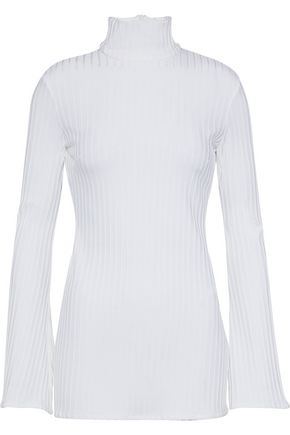 ELLERY Mescaline ribbed-knit turtleneck top