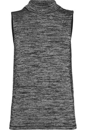 RAG & BONE Charley cutout mélange stretch-knit tank