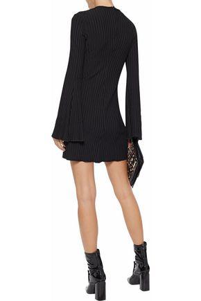 ELLERY Ribbed-knit mini dress