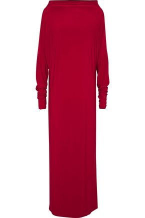 NORMA KAMALI Convertible stretch-jersey gown