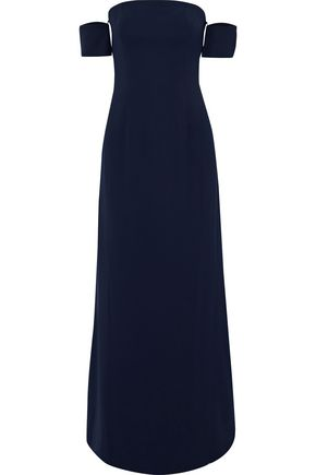 SACHIN & BABI Off-the-shoulder cady maxi gown