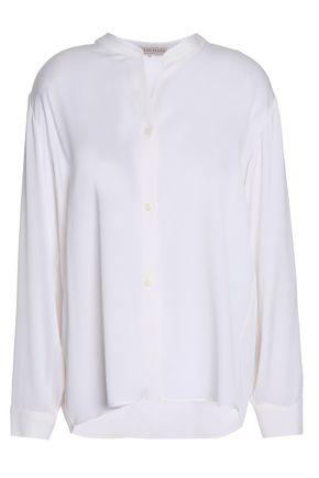 エミリオ プッチ シルク混サテンクレープ シャツ