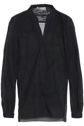 EMILIO PUCCI Cotton-organza shirt