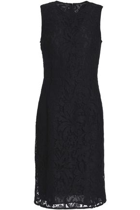 EMILIO PUCCI Cotton-blend corded lace dress