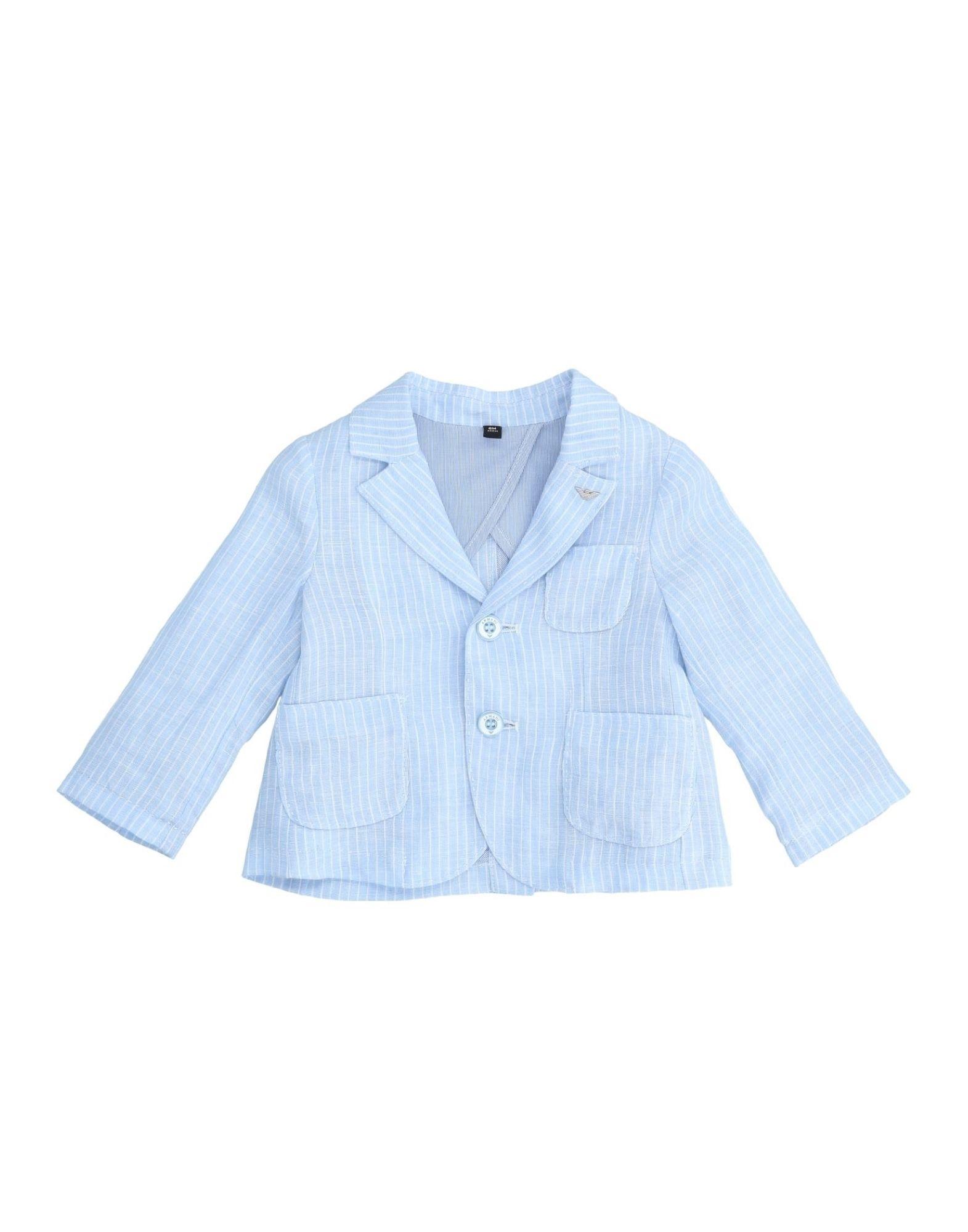 ARMANI JUNIOR Пиджак junior republic junior republic рубашка в мелкую полоску голубая