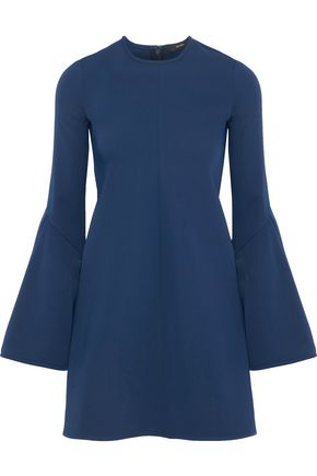 ELLERY Preacher fluted ponte mini dress