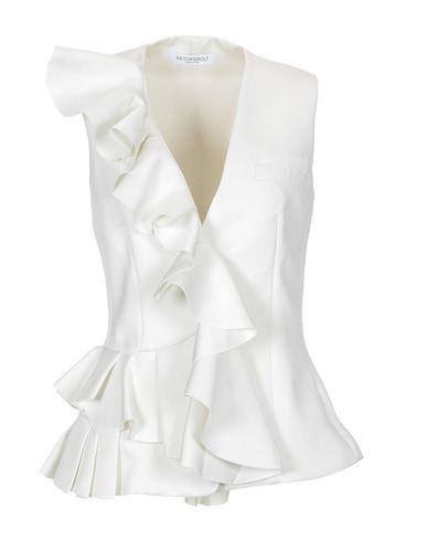 Фото - Женский пиджак  белого цвета