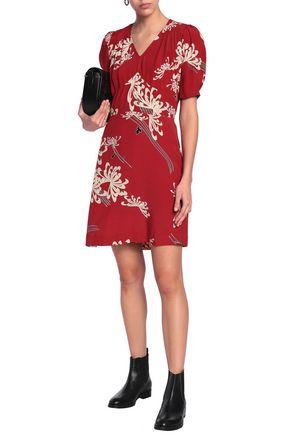 e7c868dcd15 McQ Alexander McQueen Printed woven mini dress