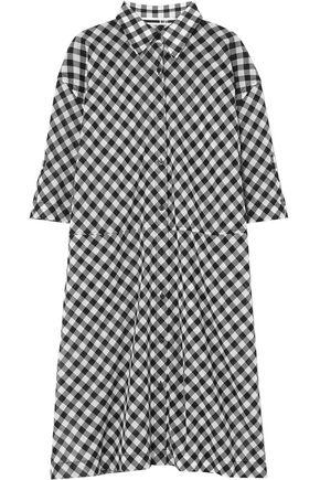 McQ Alexander McQueen Gingham cotton shirtdress