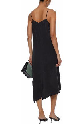 EQUIPMENT Jada asymmetric washed-silk midi slip dress