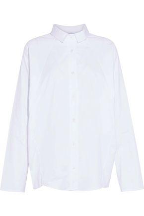 PETERSYN Bromley oversized cotton-poplin shirt