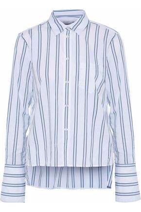 EQUIPMENT Huntley striped cotton-poplin shirt