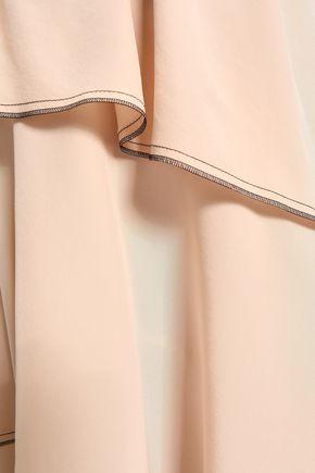 SONIA RYKIEL Tiered silk crepe de chine dress