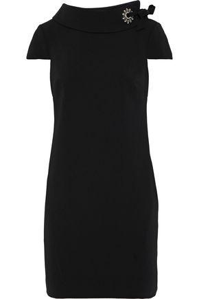 BADGLEY MISCHKA Embellished ponte mini dress