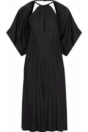 MAISON MARGIELA Open-back cutout twill dress