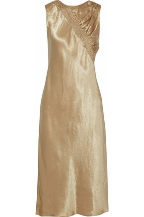 MAISON MARGIELA Shirred satin dress