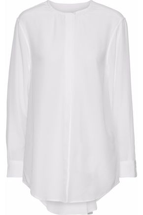 EQUIPMENT Simon washed-silk shirt