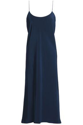 TIBI Asymmetric silk midi dress