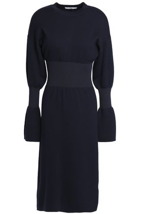 TIBI Merino wool midi dress