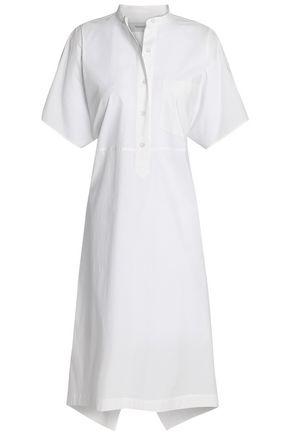 PRINGLE OF SCOTLAND Belted cotton-poplin shirt dress