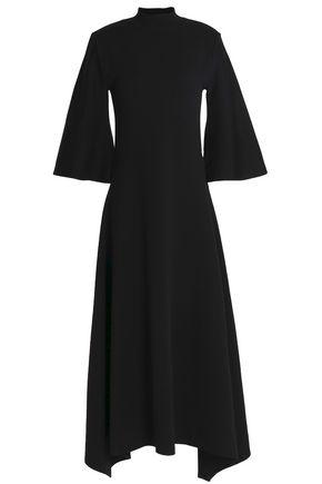 PRINGLE OF SCOTLAND Merino wool-blend turtleneck midi dress