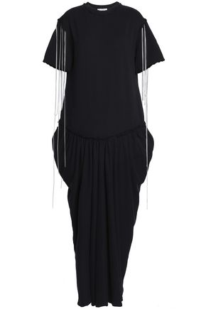 J.W.ANDERSON Chain-trimmed cotton-jersey maxi dress