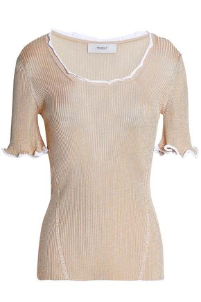 PRINGLE OF SCOTLAND Stretch-knit top