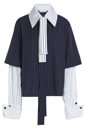 J.W.ANDERSON Pinstriped cotton shirt