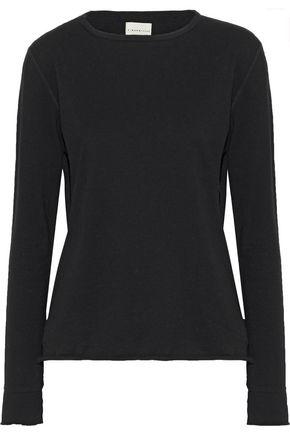 SIMON MILLER Merrick cotton-blend jersey top