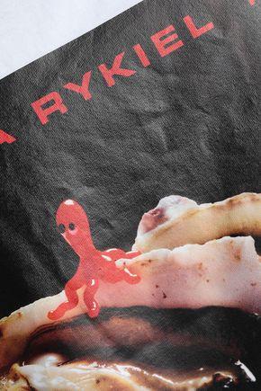 SONIA RYKIEL Printed cotton-jersey tank