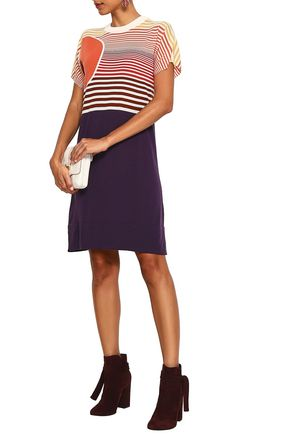 SONIA RYKIEL Intarsia-knit dress