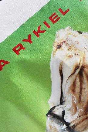 SONIA RYKIEL Printed cotton-jersey T-shirt