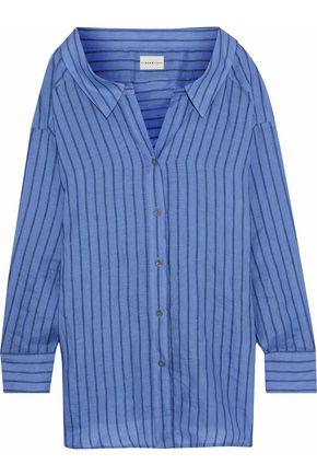 SIMON MILLER Striped linen shirt