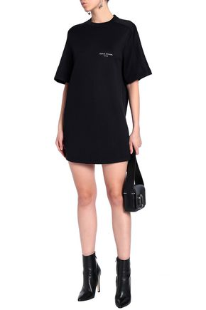 SONIA RYKIEL Printed French cotton-blend terry mini dress