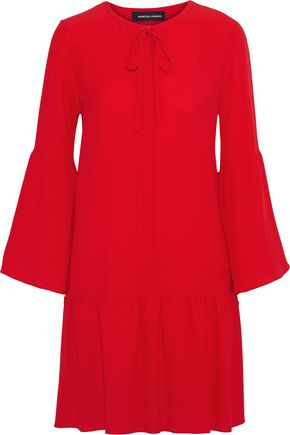 VANESSA SEWARD Silk-crepe mini dress