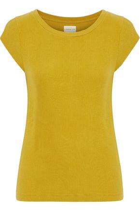 SIMON MILLER Pala ribbed cotton-blend T-shirt