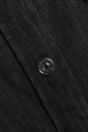 7 FOR ALL MANKIND Embroider-trimmed denim shirt